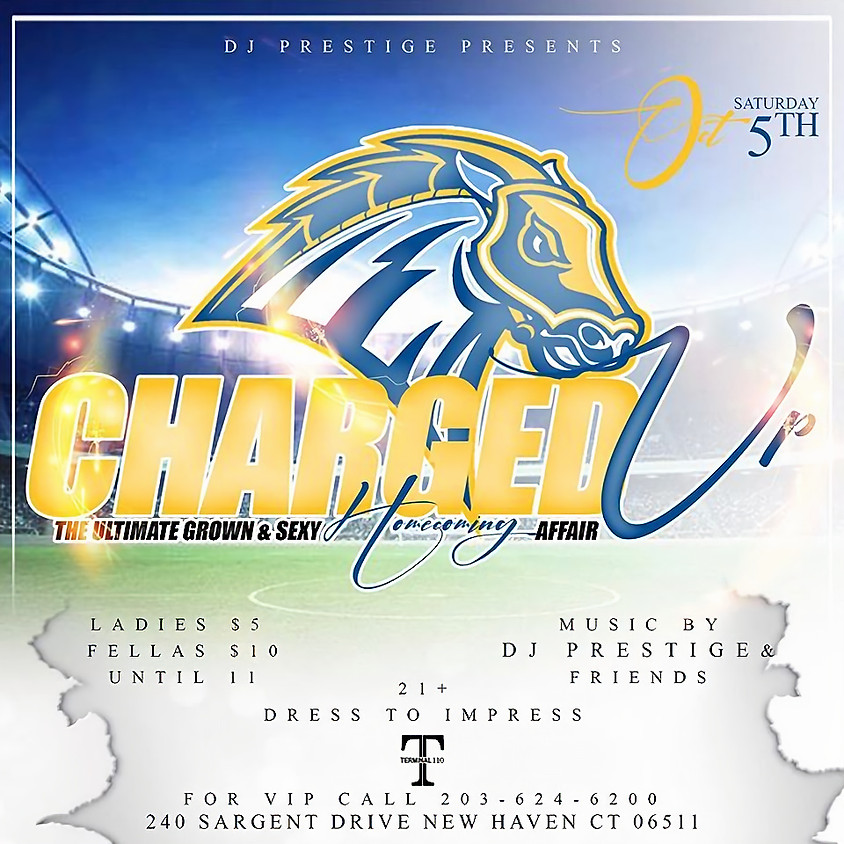 CHARGED UP HOMECOMING AFFAIR