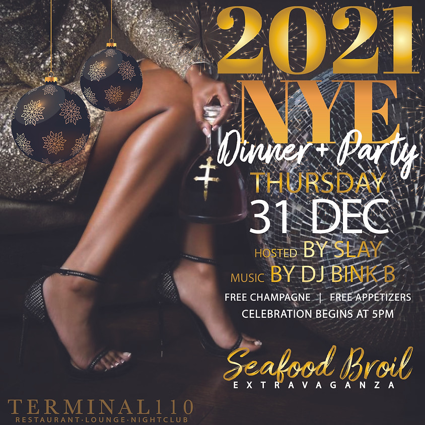 2021 New Years Eve Dinner + Party