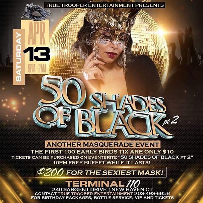 50 Shades Of Black Masquerade Event