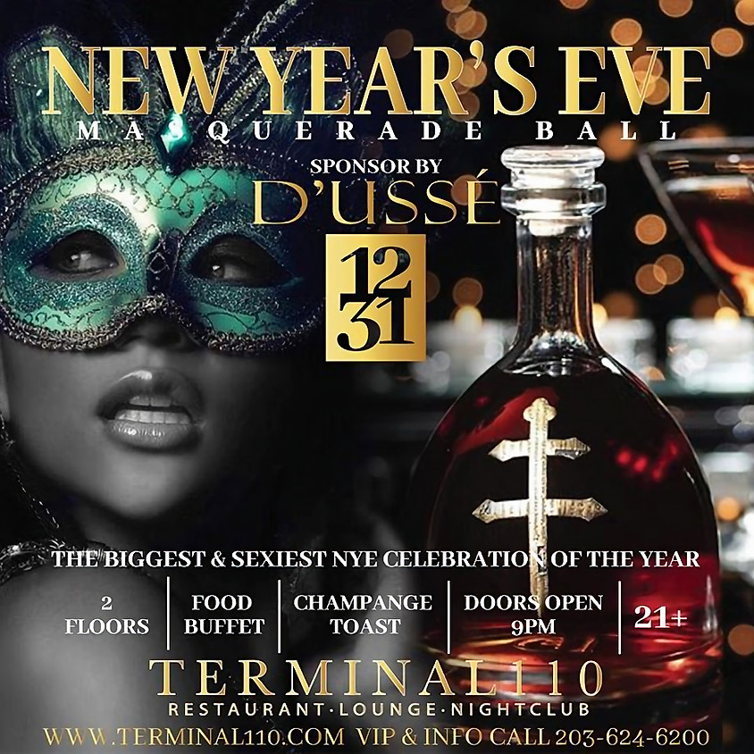 NYE MASQUERADE BALL SPONSORED BY D'USSE