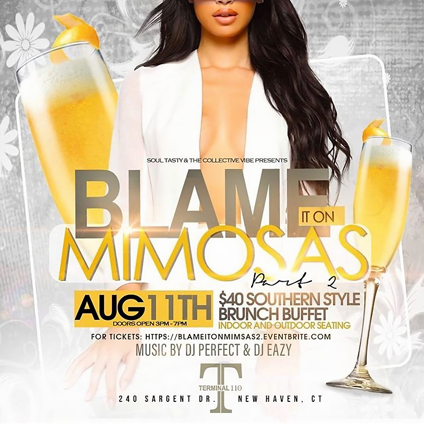 Blame It On The Mimosas Day Party