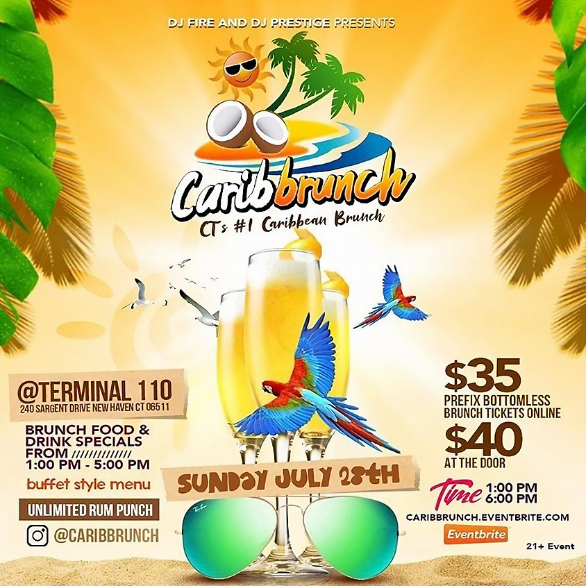 CARIB BRUNCH CT 1# Caribbean Brunch Day Party