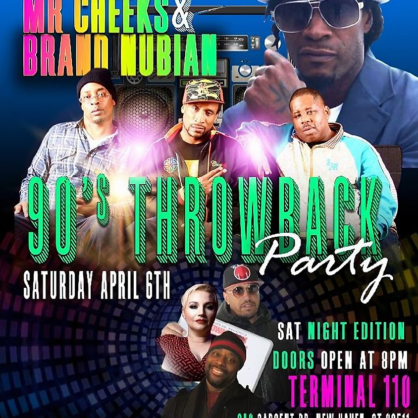 Brand Nubian & Mr Cheeks Performing Live 90's Throwback Party!