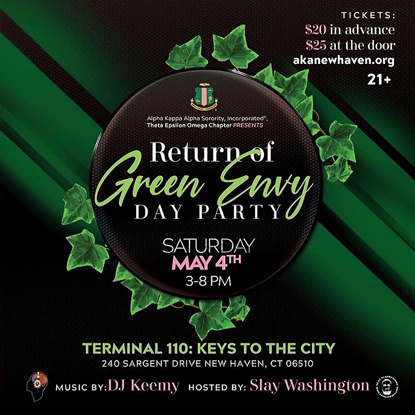 Return Of The Green Envy Day Party