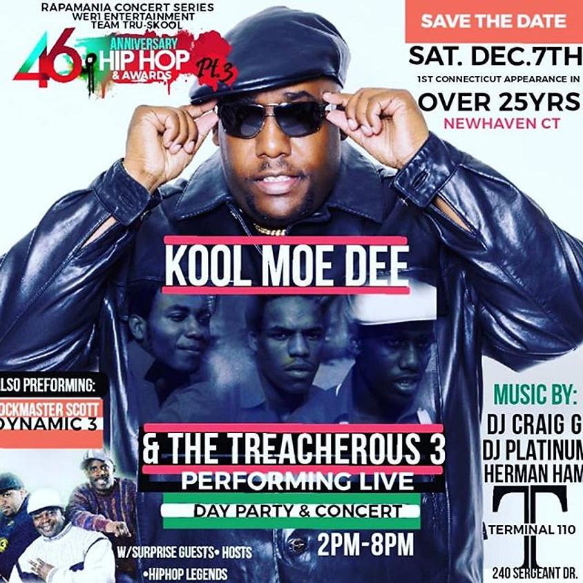 KOOL MOE DEE & TREACHEROUS 3 LIVE!!!