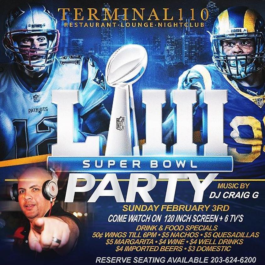 SUPER BOWL PARTY w/ DJ CRAIG G