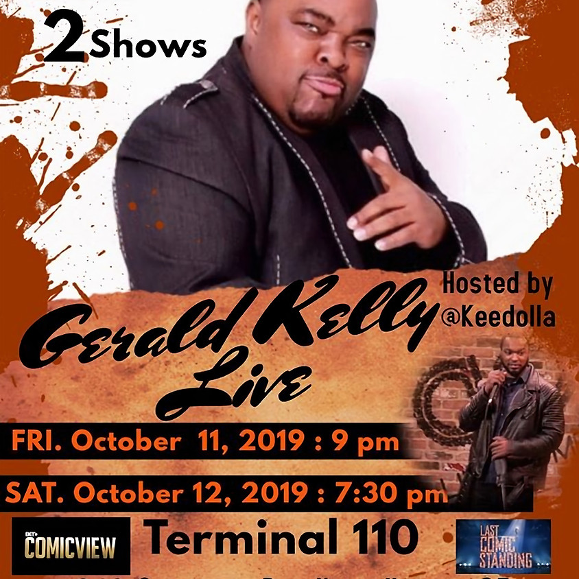 Comedian Gerald Kelly Live
