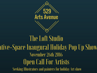 Open Call! Arts Avenues First Holiday Show!