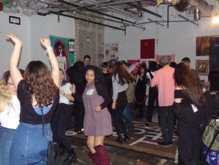 A Night of Fun and Fashion and the Local Art scene at Esa's Do and Brew