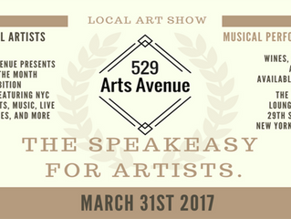 Live Music, Live art, Live energy, 529 Arts Avenue's Speakeasy