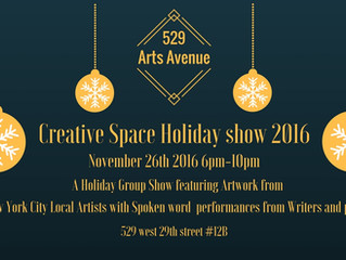 Creative Space Holiday Show!