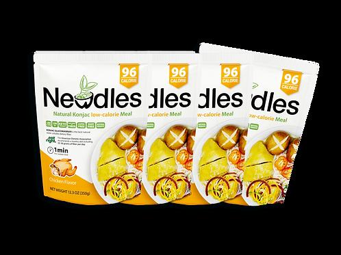 Newdles Chicken Flavor Meal ×4