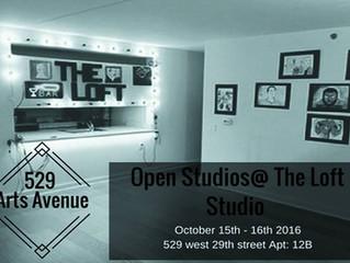 The Loft Studio Grand Opening! Open Studios