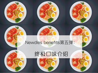 Newdles benefits Ⅴ——Tasty and diverse Flavors