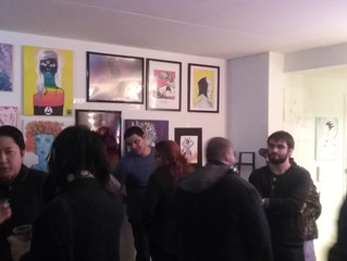 529 Arts Avenue's Creative Space Holiday Art and Poetry Show