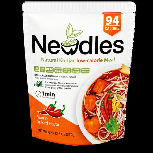 Newdles Sour & Spiced Flavor Meal