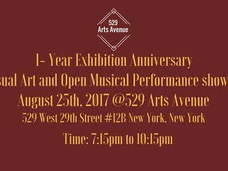 One Year Exhibition Anniversary show.