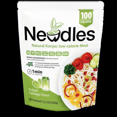 Newdles Pickled Cabbage Flavor Meal
