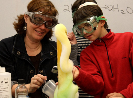 Make science fun with elephant toothpaste