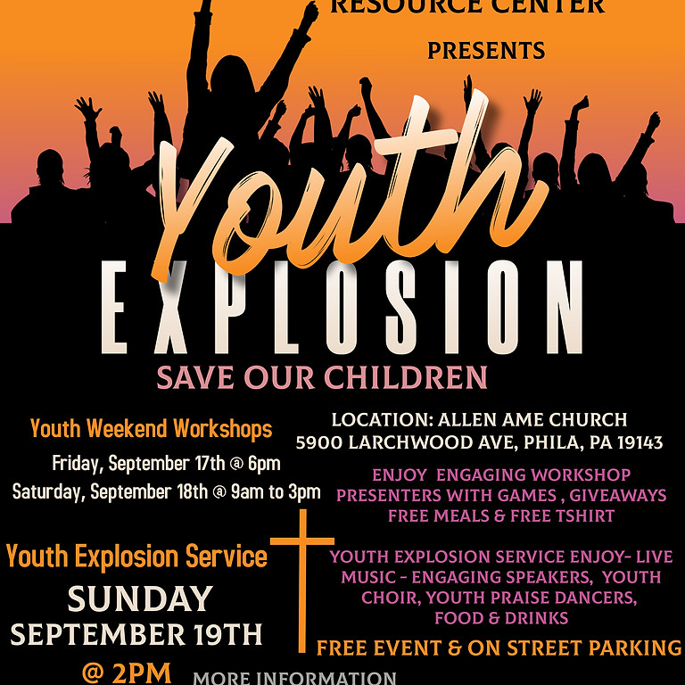 Save Our Children Youth Explosion Weekend