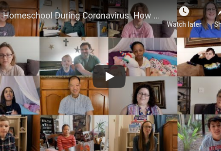 WATCH: What It's Really Like for Homeschooling During Coronavirus