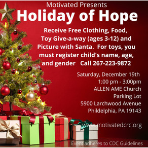 Motivated's Annual Holiday of Hope