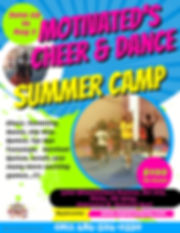Summer Camp Flyer 2020 Template - Made w