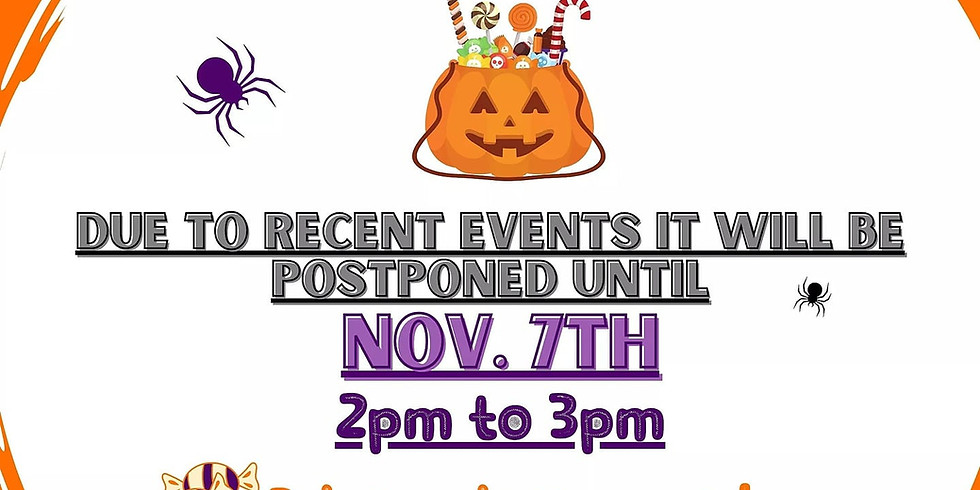 Curbside Trick or Treat- Saturday, November 7