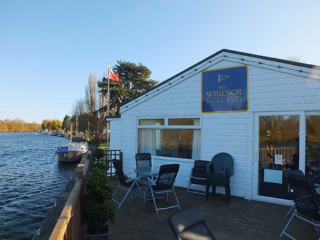 TWYC - probably the best yacht club on the River Thames