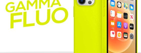 Cover gommata serie Fluo per iPhone 12 Pro e Pro Max