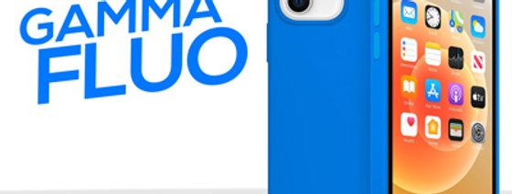 Cover gommata serie Fluo per iPhone 12 mini