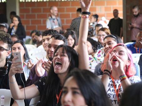 Más de 100 organizaciones juveniles están en Medellín reflexionando sobre la paz