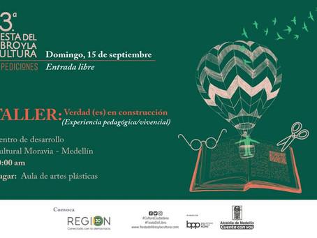 Talleres sobre Verdad y Memoria en la Fiesta del Libro de Medellín