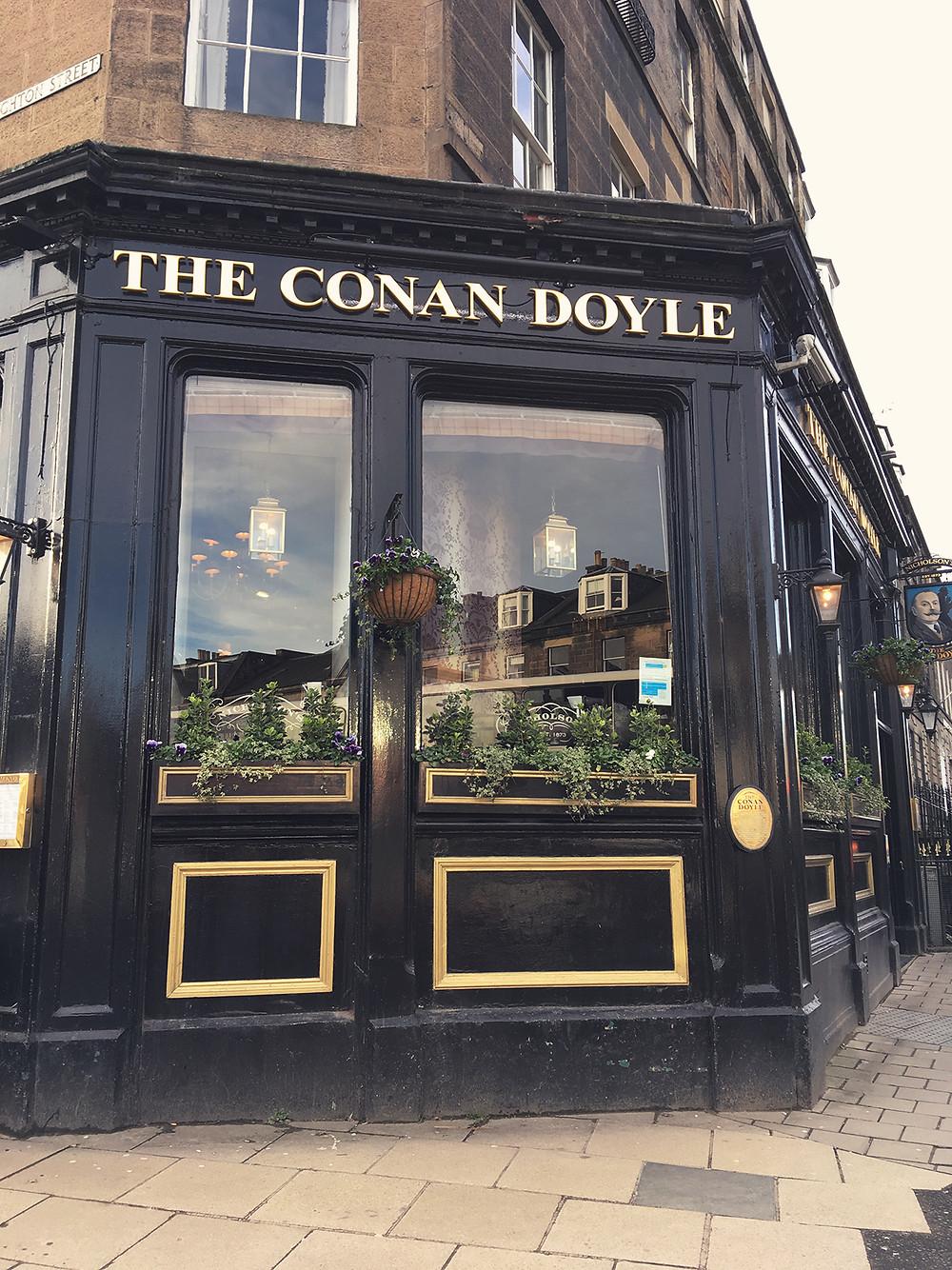 Il pub The Conan Doyle