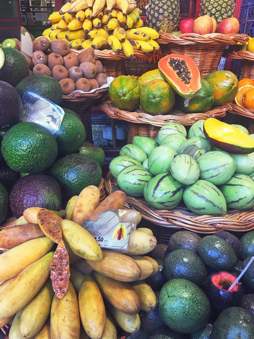 madeira tropical fruit