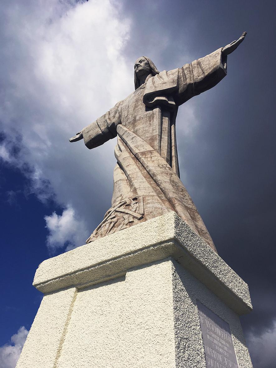 Cristo Rei Statue in Madeira