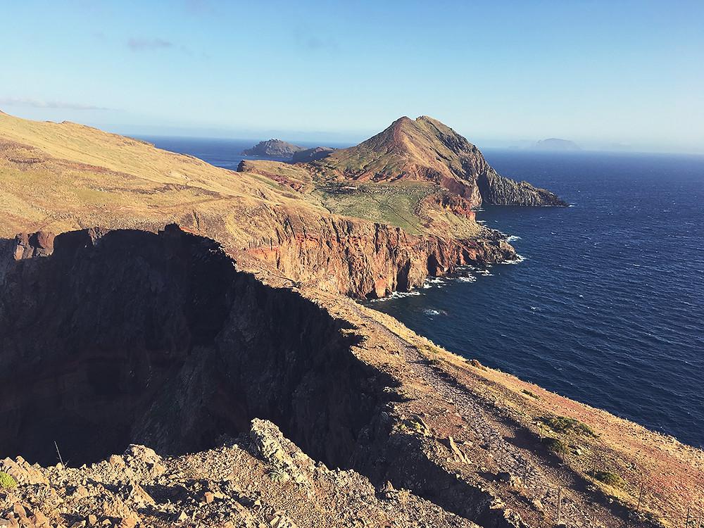Rocky coast of Madeira