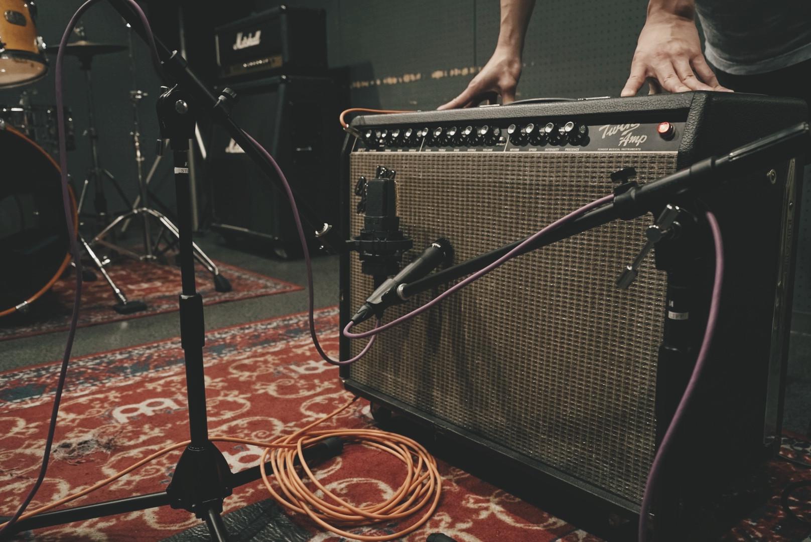 Guitar Recording scenery pt1