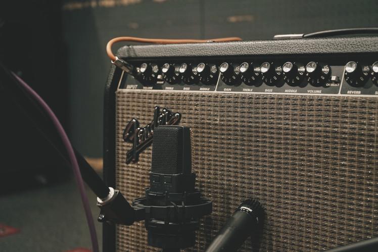Guitar Recording scenery pt2