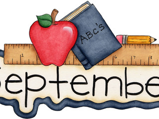 WELCOME TO SEPTEMBER!!!!!!!!!!