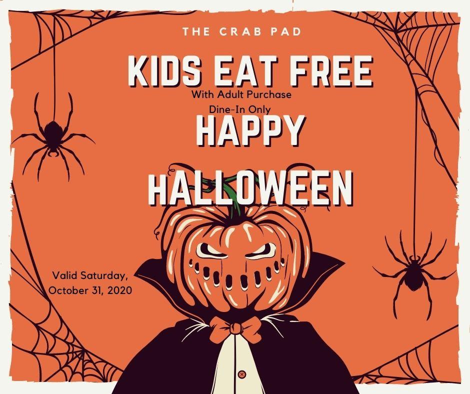 Orange Spider Vintage Horror Greeting _