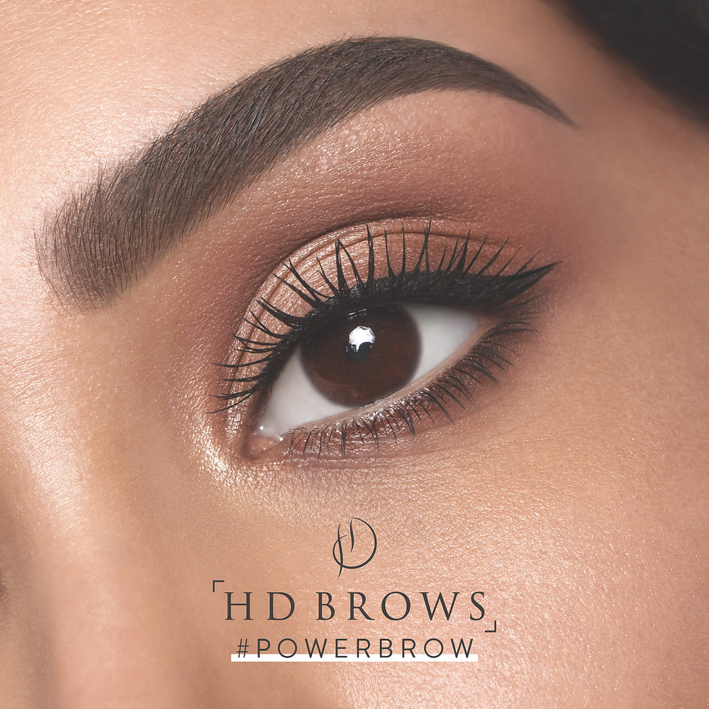 Hd Brows here at Cherry Boxx, waxing Plymouth specialist