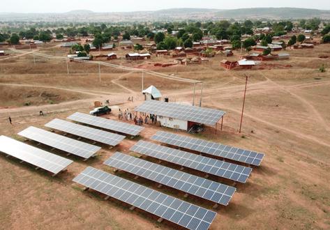120 KWp Solar Mini Grid