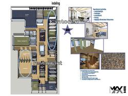 ontwerp - kantoren + restaurant