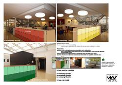 ontwerp nieuwe lockers verdiepingen