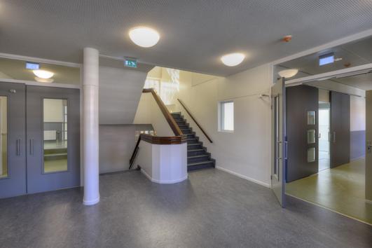 gerestaureerd trappenhuis