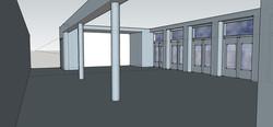 3D rendering nieuwe situatie