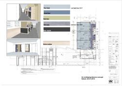 kleurenvoorstel 2e verdieping