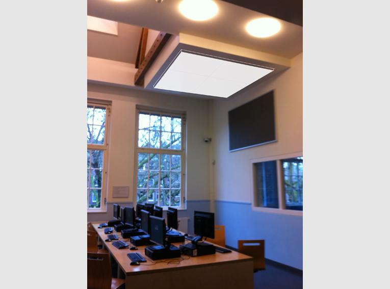 ontwerp akoestische plafondpaneel