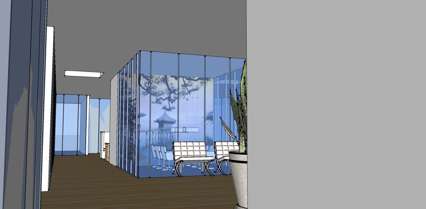 3D vergaderruimte